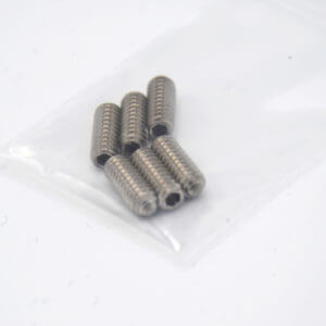 FCS Fin Box screws 1/2inch long set of 6