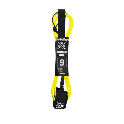 9 Fuss Straight Leash Gelb