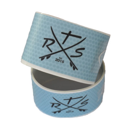 Rail Saver Tape transparent SUP kantenschutz blau
