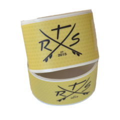 rail saver tape gelb SUP windsurf rail saver tape yellow transparent