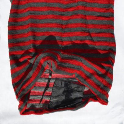 Rot Grau 7 Fuss Open