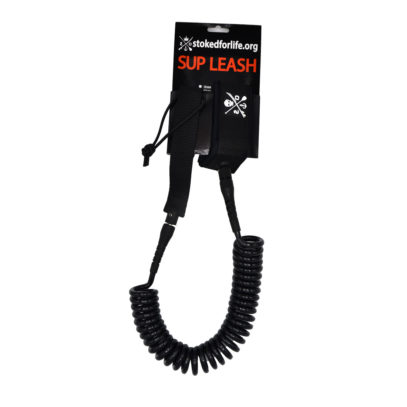 Spiral Leash 11 Fuss Black