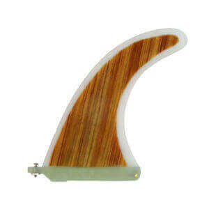 Longboard Bamboo Fin 9"