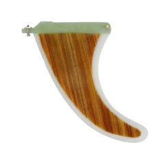 Longboard Bambus Finne 9