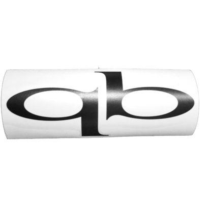 Sticker Qb Schwarz