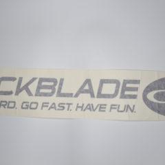 Quickblade Auto Aufkleber