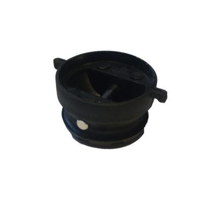 Leash Plug 2019 32mmblack Oben