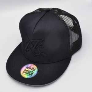trucker hat mesh cap rail saver tape front view