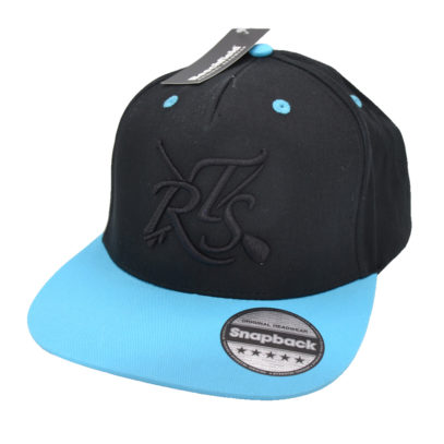 Snap Back Turquoise Front