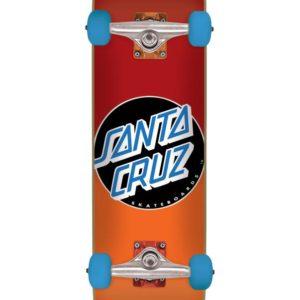 Skateboards-Complete Santa Cruz Classic Dot