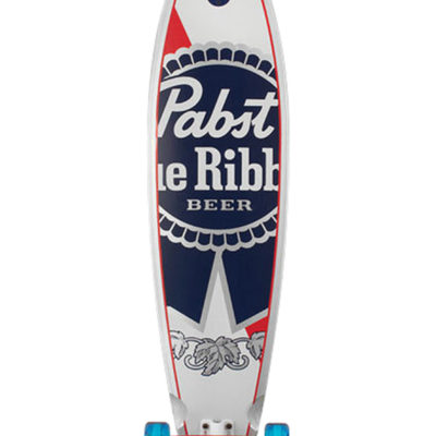Santa-Cruz PBC PBR Pintail Longboard-komplett