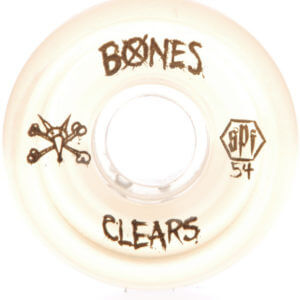 Wheels Bones SPF Clears 84B P5