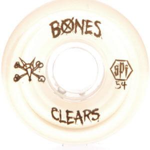 Wheels Bones SPF Clears 84B P5