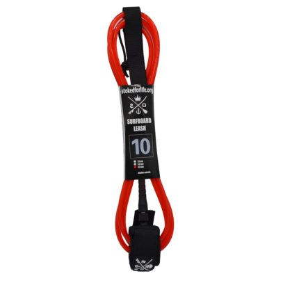 Straight Leash 10 Fuss Red