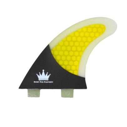 FCS kompatible Karbon finnen Größe M Thruster G5 Karbon