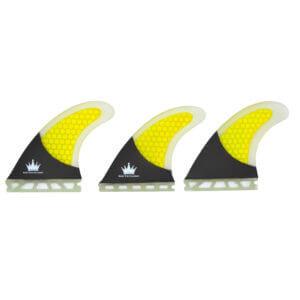 Honeycomb Fin G5 FCS Base |Thruster set size M