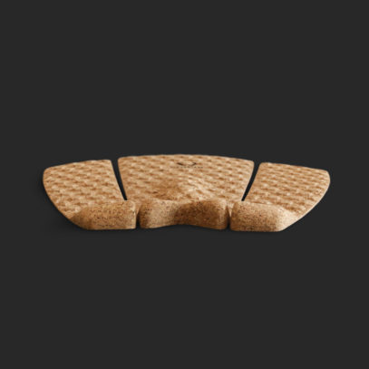 Cork Traction Pad 3pieces Back 1