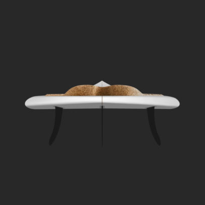 Cork Traction Pad Back Surfboard 768x768