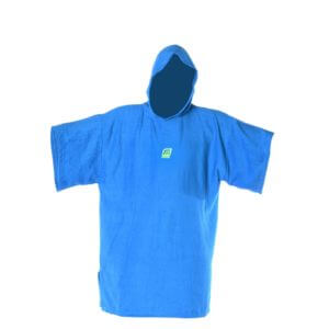 Kinder Surf & Strand Poncho Handtuch Blau MADNESS Change Robe Kids