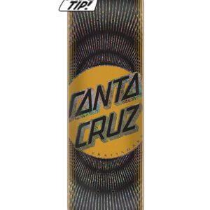 Santa-Cruz Vertigo Wavy Dot Wide Tip Skate Deck