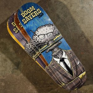 Doomsayers Exploder Head Skateboard Deck