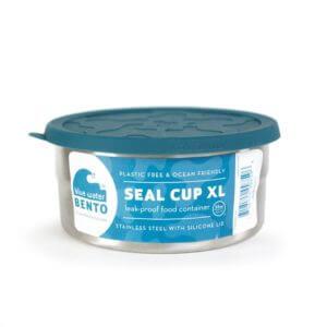 XL auslaufsicherer Edelstahl Lebensmittelbehälter