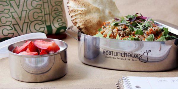 ECOlunchbox - Ovale Edelstahl Brotdose