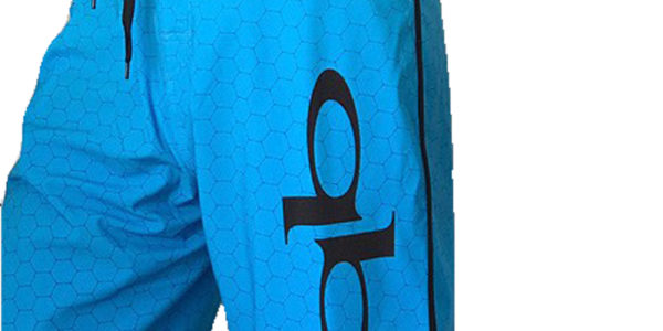 Quickblade hex Board Shorts blue