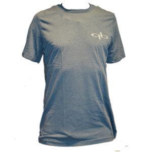 Quickblade Paddle T-Shirt blau mit weißer Druck