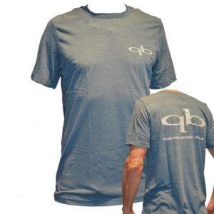 Quickblade Paddle T-Shirt blau weißer Druck