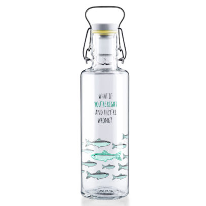"""Soulbottle """"You're right"""" 0,6l Glastrinkflasche"""