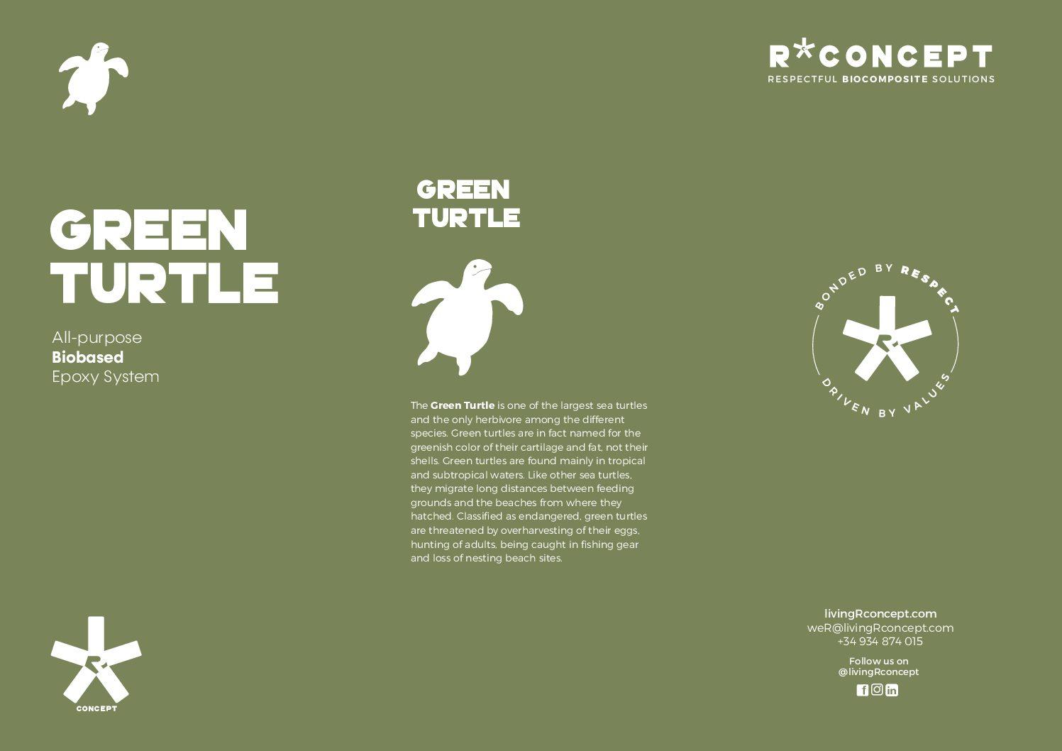 Green-Turtle Bio Epoxidharz Kit 1,5l mit schnellem Härter