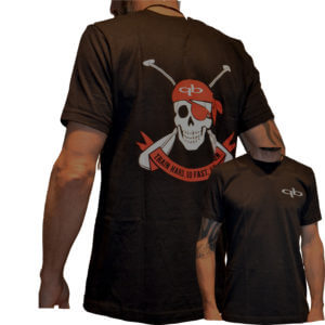 QuickbladePaddle T-Shirt jolly roger