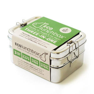 ECOlunchbox - Drei in eins Brotbox | Three in One