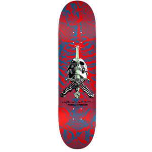 Skate Deck Ray Rodriguez Skull & Sword 9.05 Red