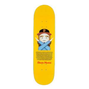 Skate-Mental Skateboarddeck Stabba Emoji
