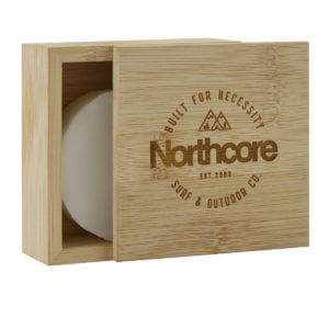 Northcore Bambus Surf Wachs Box