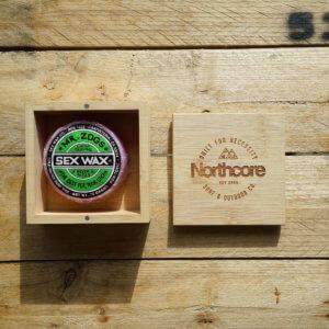 Northcore Bambus Surf Wachs Box