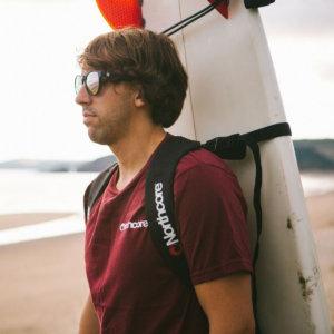 Surfboard Trageriemen für Rückentransport