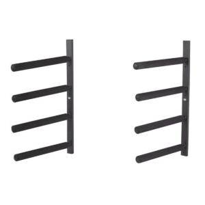 Surfboard Wand Rack für bis zu 4 Boards