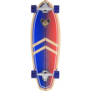 """FLYINGWHEELS """"La Jolla"""" Surf Skateboard"""