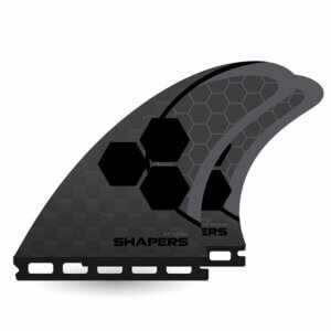 Shapers Fins AM Carbon Stealth Truster Single-Tap Large